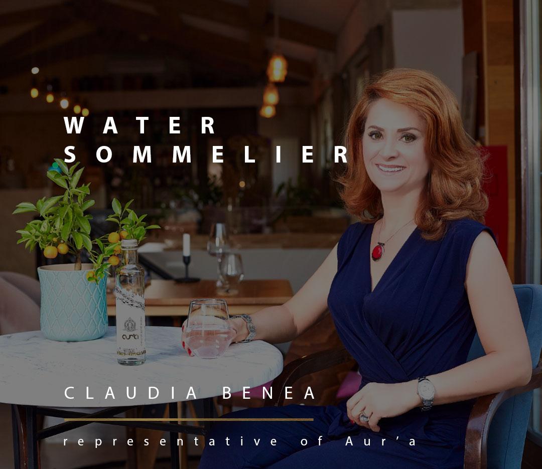 Aur'a Water Sommelier – Claudia Benea 3.