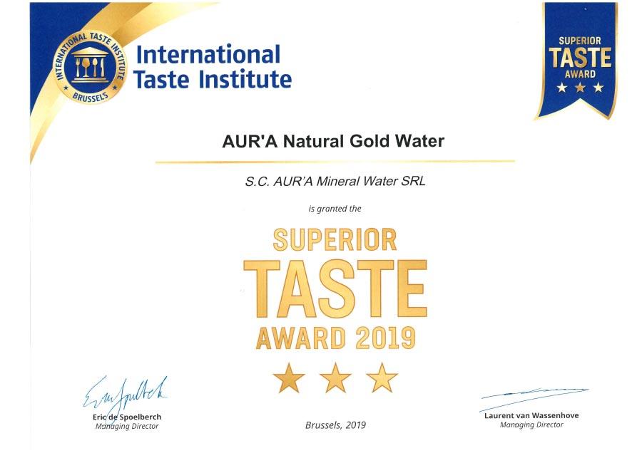 Superior Taste Award 2019 2.
